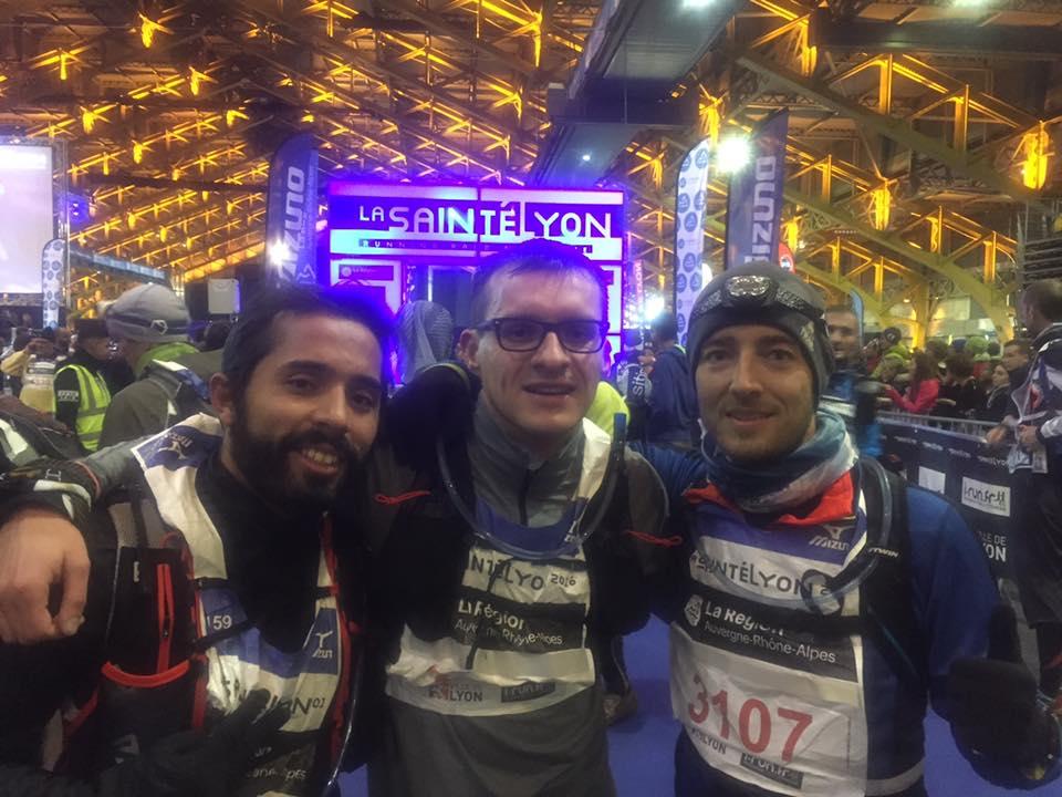 Histoire d'une course #12 : La Team se pèle à la Saintélyon
